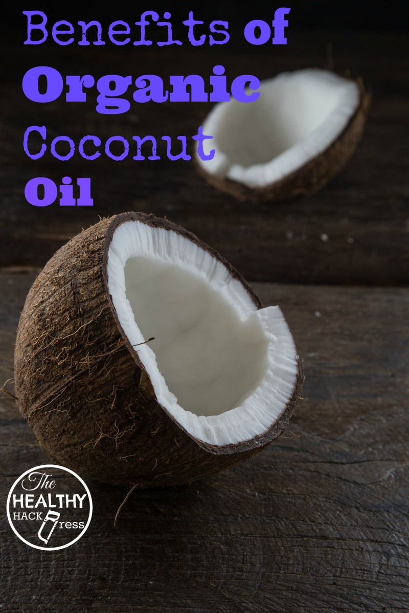 5 Top Benefits of Organic Coconut Oil